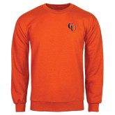 Orange Fleece Crew-CU