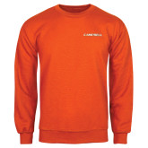 Orange Fleece Crew-Campbell Flat