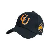 Black Heavyweight Twill Pro Style Hat-CU