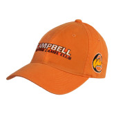 Orange Twill Unstructured Low Profile Hat-Fighting Camel Club