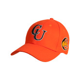 Orange Heavyweight Twill Pro Style Hat-CU