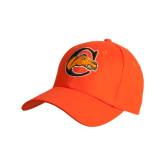 Orange Heavyweight Twill Pro Style Hat-C w/ Camel Head