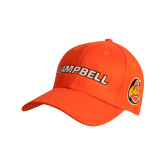 Orange Heavyweight Twill Pro Style Hat-Campbell Flat