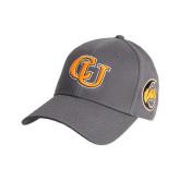 Charcoal Heavyweight Twill Pro Style Hat-Interlockin CU