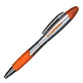 Silver/Orange Blossom Pen/Highlighter-Campbell Flat