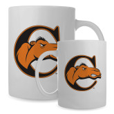 Full Color White Mug 15oz-C w/ Camel Head