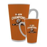 Full Color Latte Mug 17oz-2017 Big South Champions Mens Golf