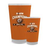 Full Color Glass 17oz-2017 Big South Champions Womens Golf