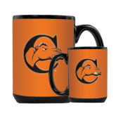 Full Color Black Mug 15oz-C w/ Camel Head