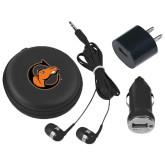 3 in 1 Black Audio Travel Kit-C w/ Camel Head