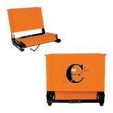 Stadium Chair Orange-Campbell Official Logo