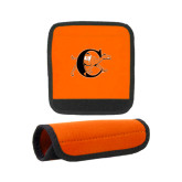 Neoprene Orange Luggage Gripper-Campbell Official Logo