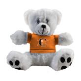Plush Big Paw 8 1/2 inch White Bear w/Orange Shirt-Campbell Official Logo
