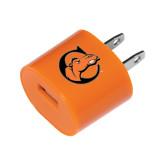 Orange USB A/C Adapter-C w/ Camel Head