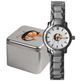 Mens Stainless Steel Fashion Watch-Campbell Official Logo
