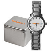 Mens Stainless Steel Fashion Watch-Campbell Flat