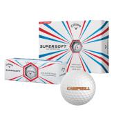 Callaway Supersoft Golf Balls 12/pkg-Campbell Flat
