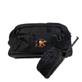 Urban Passage Wheeled Black Duffel-Campbell Official Logo