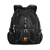 Wenger Swiss Army Mega Black Compu Backpack-Campbell Official Logo