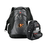 Wenger Swiss Army Tech Charcoal Compu Backpack-Campbell Official Logo