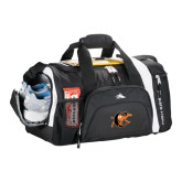 High Sierra Black 22 Inch Garrett Sport Duffel-Campbell Official Logo