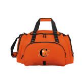 Challenger Team Orange Sport Bag-Campbell Official Logo