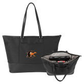 Stella Black Computer Tote-Campbell Official Logo
