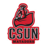 Medium Decal-CSUN Matador, 8 inches tall