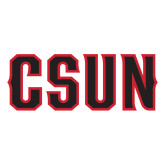 Large Decal-CSUN, 12 inches wide