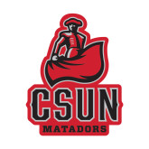 Small Decal-CSUN Matador, 6 inches tall