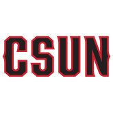 Extra Large Decal-CSUN, 18 inches wide