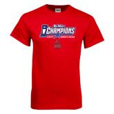 Big West Red T Shirt-Big West Champions 2016 CSUN Womens Soccer