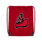 Red Drawstring Backpack-Matador