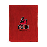 Red Rally Towel-CSUN Matador