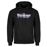 Black Fleece Hoodie-Big West Champions 2017 Womens Soccer