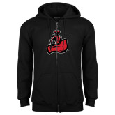 Black Fleece Full Zip Hoodie-Matador