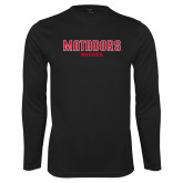 Performance Black Longsleeve Shirt-Matadors Soccer