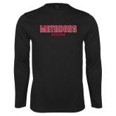 Performance Black Longsleeve Shirt-Matadors Soccer