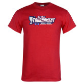 Red T Shirt-Big West Champions 2017 Womens Soccer