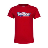 Youth Red T Shirt-Big West Champions 2017 Womens Soccer