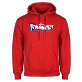 Red Fleece Hoodie-Big West Champions 2017 Womens Soccer