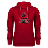 Adidas Climawarm Red Team Issue Hoodie-CSUN Matador