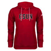 Adidas Climawarm Red Team Issue Hoodie-CSUN