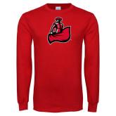 Red Long Sleeve T Shirt-Matador