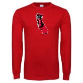 Red Long Sleeve T Shirt-California Matador