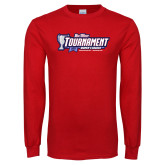 Red Long Sleeve T Shirt-Big West Champions 2017 Womens Soccer