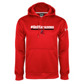 Under Armour Red Performance Sweats Team Hoodie-#GoMatadors