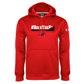 Under Armour Red Performance Sweats Team Hoodie-#RockTheRed