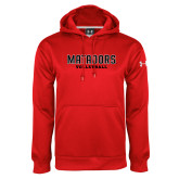 Under Armour Red Performance Sweats Team Hoodie-Matadors Volleyball