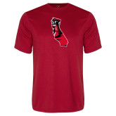 Performance Red Tee-California Matador